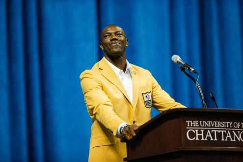 The Unexpected Terrell Owens Hall Of Fame Speech