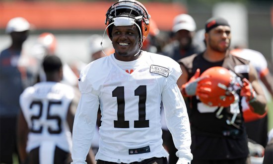 Browns Wide Receiver Antonio Callaway Cited For Possession