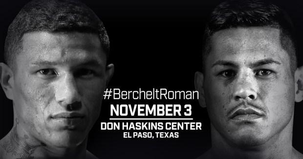 Berchelt and Roman Set For Toe-to-Toe Battle in El Paso