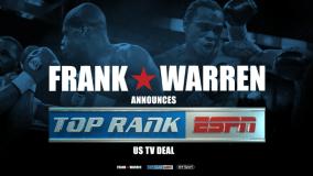Top Rank Announces Media Partnership With Frank Warren's Queensberry Promotions