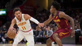 Trae Young's Explosion Lead Hawks To Victory Against Cavaliers