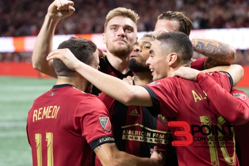 United Impresses In Win Of Eastern Conference Finals' First Leg