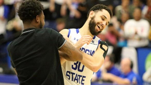 Thomas' Career High 30 Leads Georgia State To 62-60 Win Over Mercer