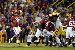 College Football Top Ten (Week 10): No Shake Up At All