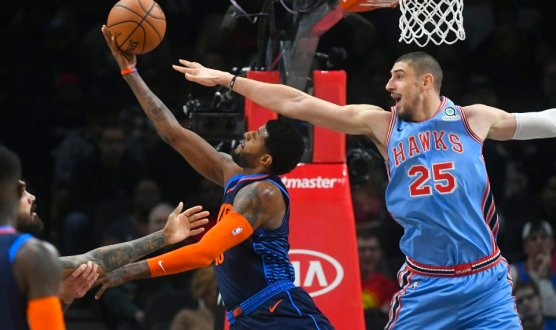 Hawks Have Offensive Explosion Against Oklahoma City