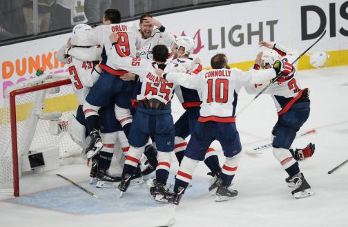 Washington D.C. And The Caps' Celebrate The One-Year Anniversary Of Lord Stanley.