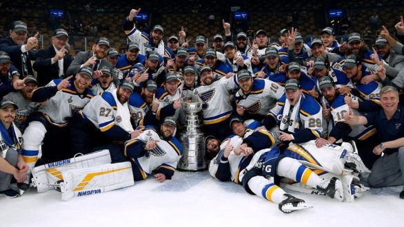 The St. Louis Blues Are Champs After 51-Year Drought