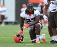 Cleveland Browns Running Back Kareem Hunt Cleared To Practice