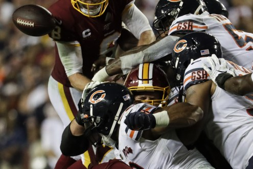 Redskins Get Embarrassed On Monday Night Football By The Bears