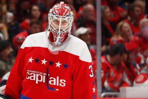 Ilya Samsonov- Confidence Helping Out The Capitals