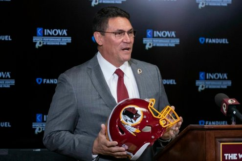 Ron Rivera Betting On Himself As Redskins' New Head Coach