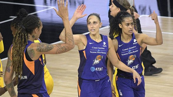 Phoenix Mercury Close Out The Opening Week Of The Season Strong