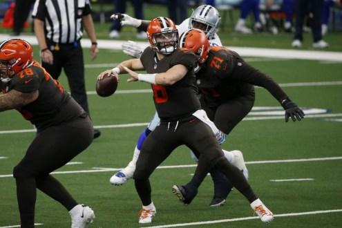 Cleveland Browns Quarter Season Report Card