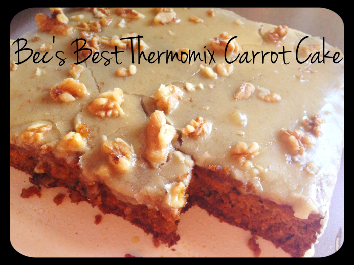 Carrot Cake Iced Rectangle
