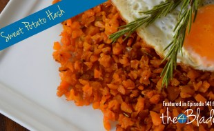 Thermomix breakfast sweet potato hash