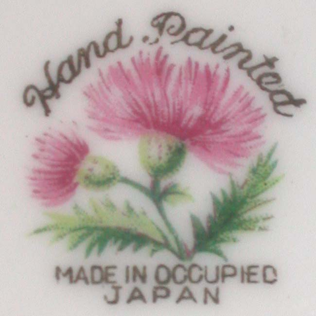 Made in Occupied Japan Makers Marks