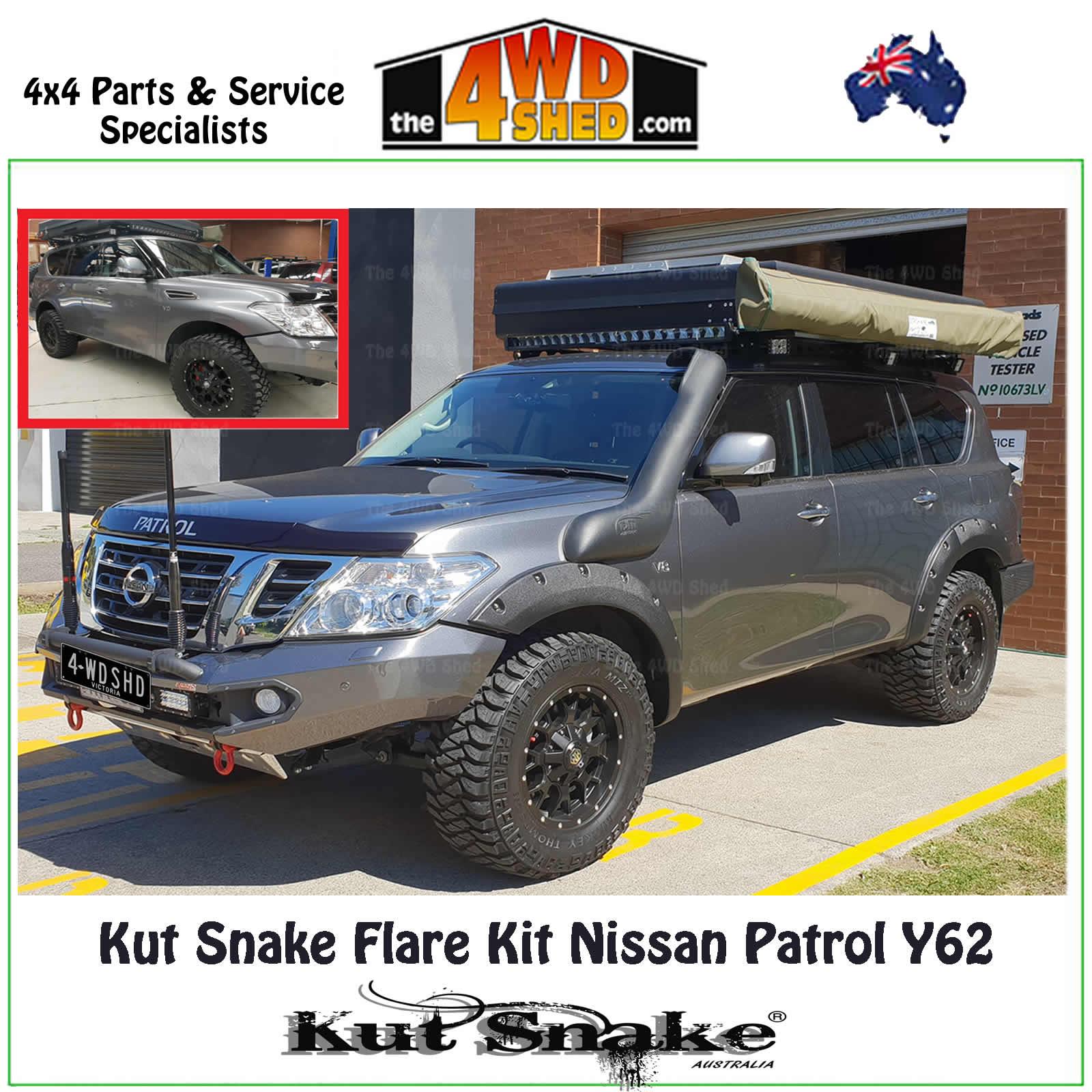 hight resolution of kut snake flare kit nissan gu y62 patrol