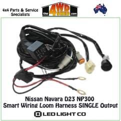 Nissan Navara Wiring Diagram D22 1996 S10 Radio D23 Np300 Smart Loom Harness Single