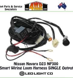 nissan navara d23 np300 smart wiring loom harness [ 1600 x 1600 Pixel ]