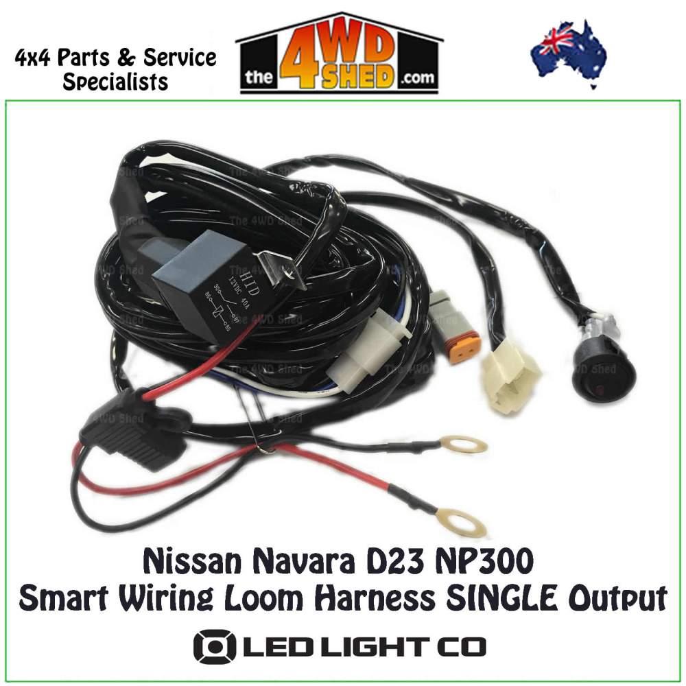 medium resolution of nissan navara d23 np300 smart wiring loom harness