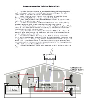 Shed Tech Driving Light Wiring Diagrams