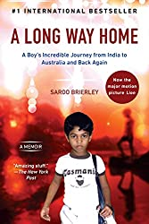 """A Long Way Home cover -- a great  non-fiction read for the """"set on a form of transportation"""" prompt"""
