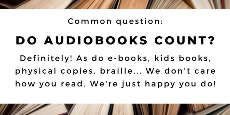 The 52 Book Club 2021 guide, common question: Do audiobooks count? Definitely!