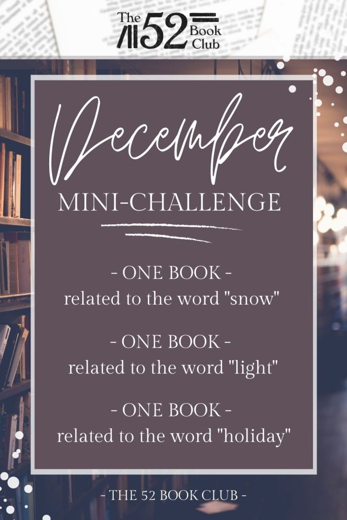 December mini-challenge with three wintery themed prompts: snow, light, and holiday