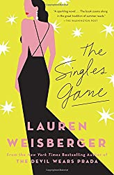 The Singles Game -- a book with a woman facing away on the cover