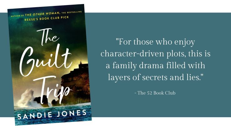 The Guilt Trip -- for those who enjoy character-driven plots, this is a family drama filled with layers of secrets and lies.