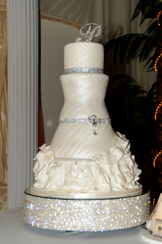 Rhinestone Cake Stands Rentals Designs With Your
