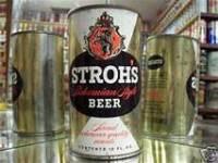 stroh's beer