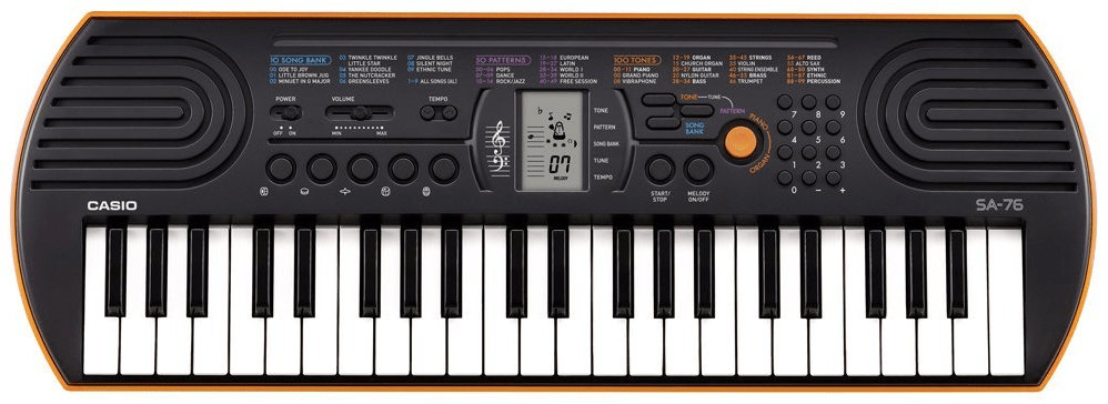 Keyboard: Casio SA-76 - The 8-Bit Guy