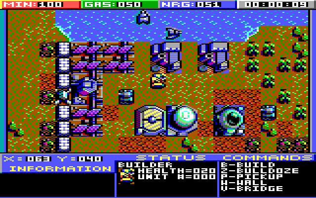 Planet X3 for MS-DOS computers