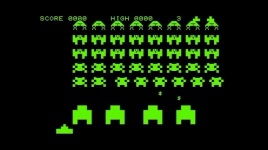 PET space invaders
