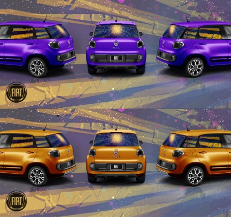 Fiat Window Vinyl Mockup, 2013