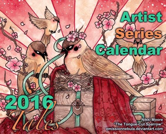 Artist Series Calendar 2016: Tales