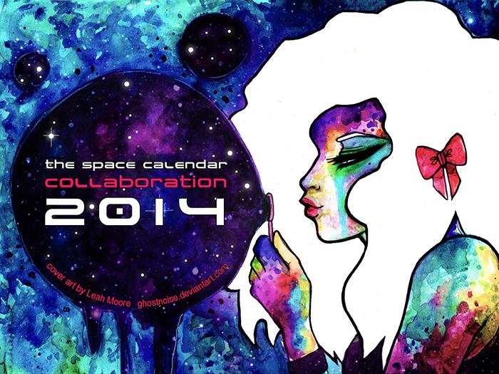 2014 Space Calendar Cover
