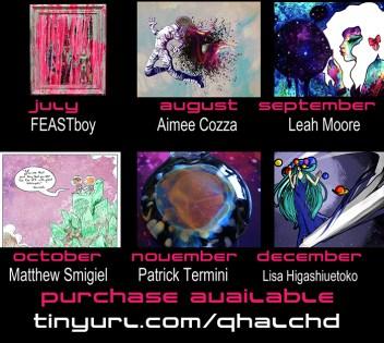 July through December 2014 Artists