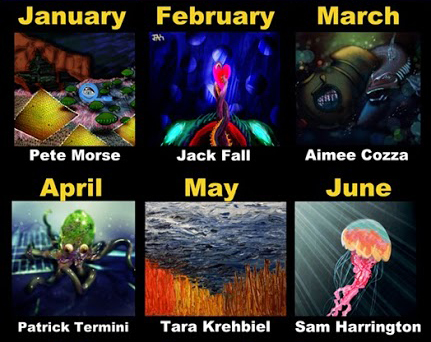January through June 2015 Artists
