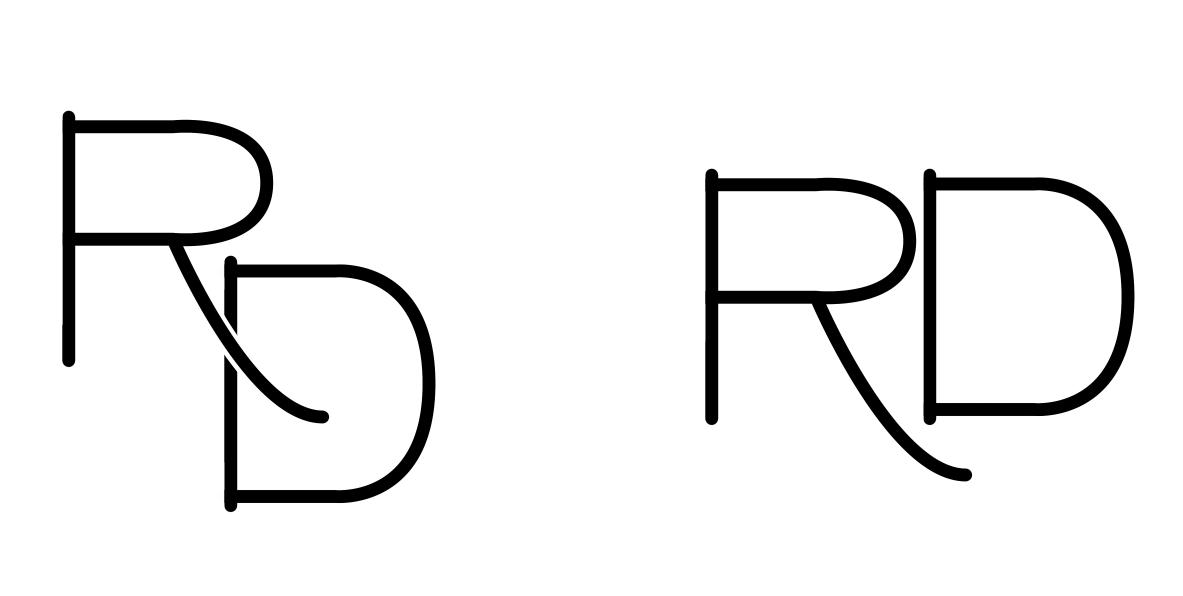 RD Refined Logos