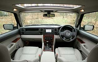 Car Reviews Jeep Commander 30 CRD Limited The AA
