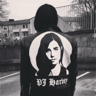 Handpainted leather jacket @Nattskiftet
