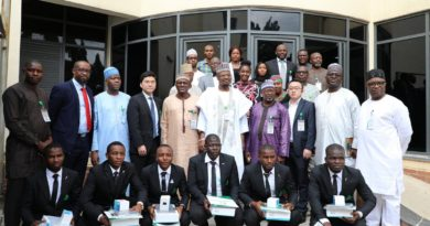FLASHBACK: How NITDA honored ABU Students for excelling at the GLOBAL HUAWEI ICT COMPETITION Finals in China 5