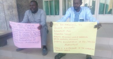 IPPIS: Police escort staff as ABU ASUU Protest 4