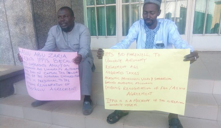 IPPIS: Police escort staff as ABU ASUU Protest 1