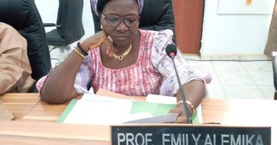 Inspirational Prof Emily Alemika: Kogi's First female Professor of Law. 7