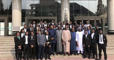 PHOTOS: Caring ABU VC, Prof Ibrahim Garba visit ABU Engineering students in China 6