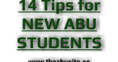 14 Best Tips every New ABU Student should know 4