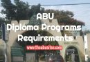 Entry Requirements for ABU Diploma Programs